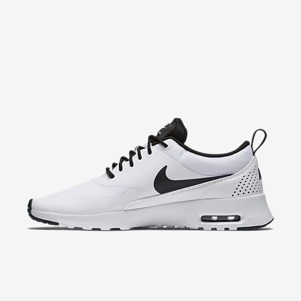 Nike Air Max Thea embossed leather and mesh sneakers NET A