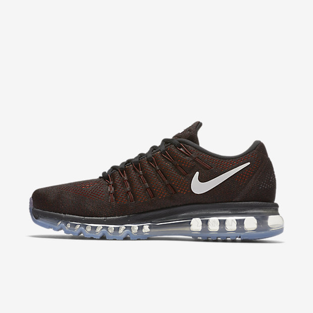 Nike Air Max 2016 Cool Black White Mens Running Trainers Shoes