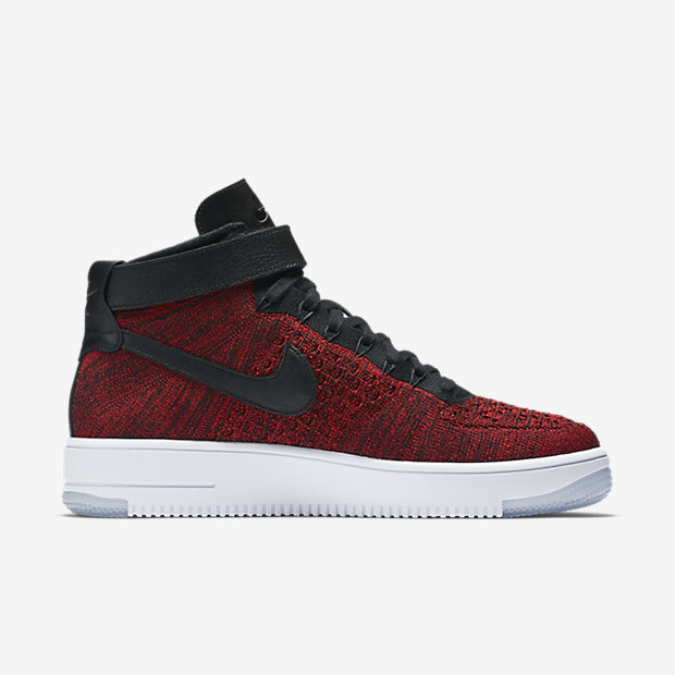 Nike Air Force 1 Flyknit Red