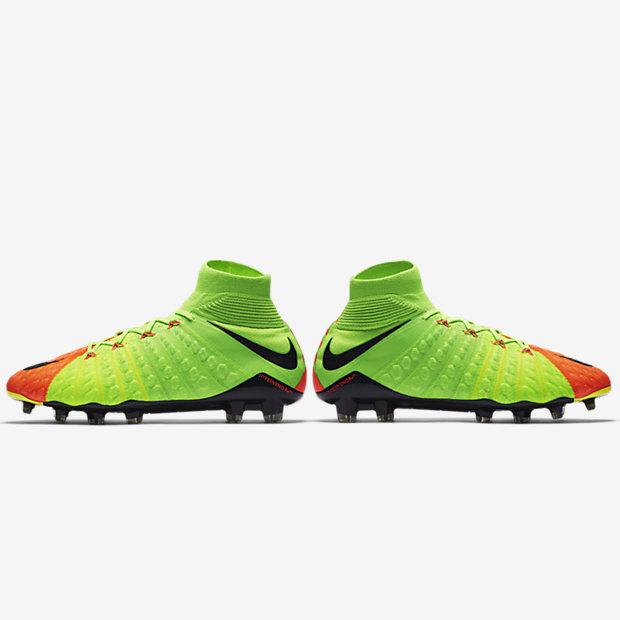 83b5f7bc6 Soccer Sale Nike Hypervenom Phantom III DF AG Pro - Electric Green Black Hyper  Orange