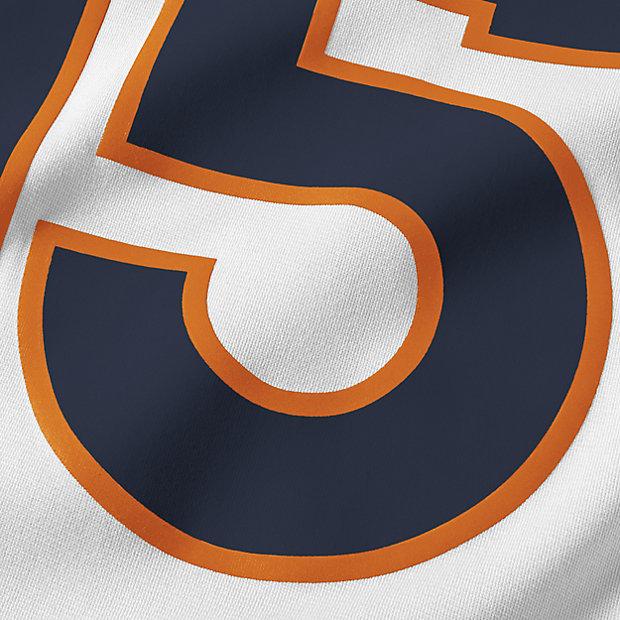 Women's Denver Broncos Nike Orange Custom Game Jersey