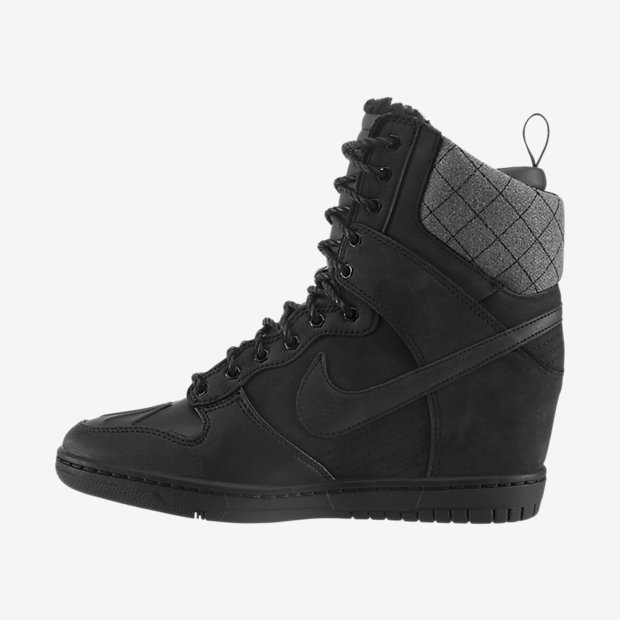 nike high heel sneaker boots