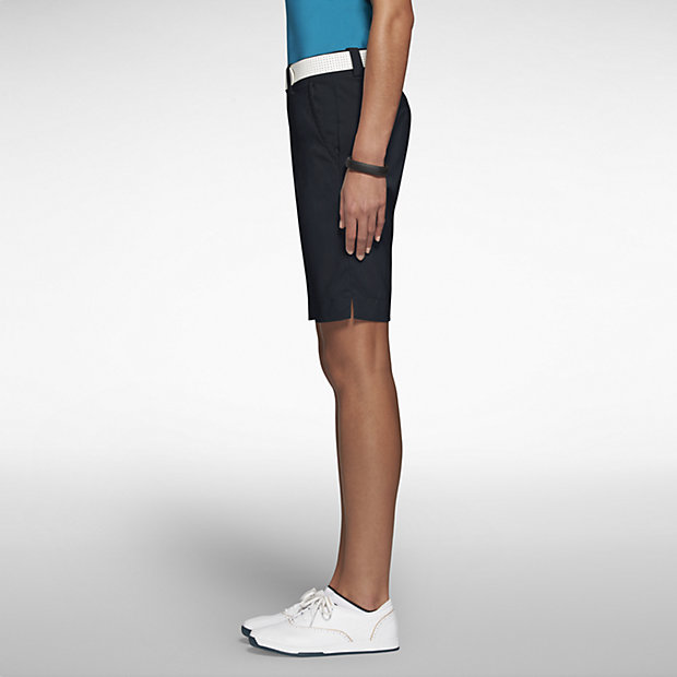 Nike Ladies Sporty Golf Shorts - Black. Move your mouse over image