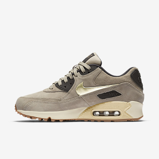 Nike Air Max 90 Suede Gold