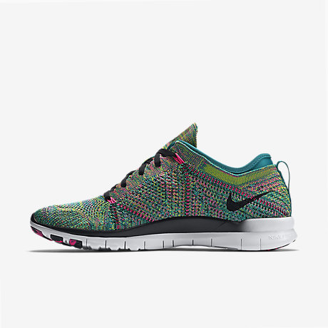 Cheap Nike Free 4.0 Flyknit 2015 Women's Running Shoes Hot Lava