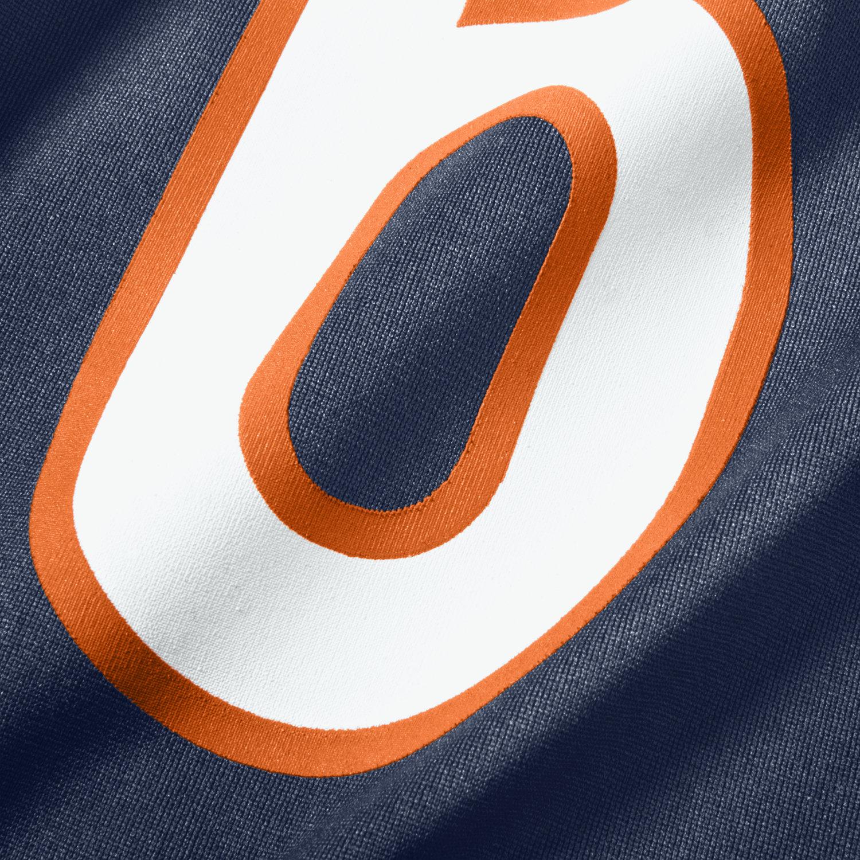 d84ff04a NFL Jersey's Mens Chicago Bears Jay Cutler Nike Navy Blue Game Jersey