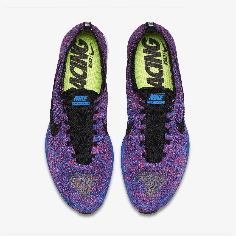 online retailer 8a132 07c52 ... nike flyknit racer sky blue purple . ...