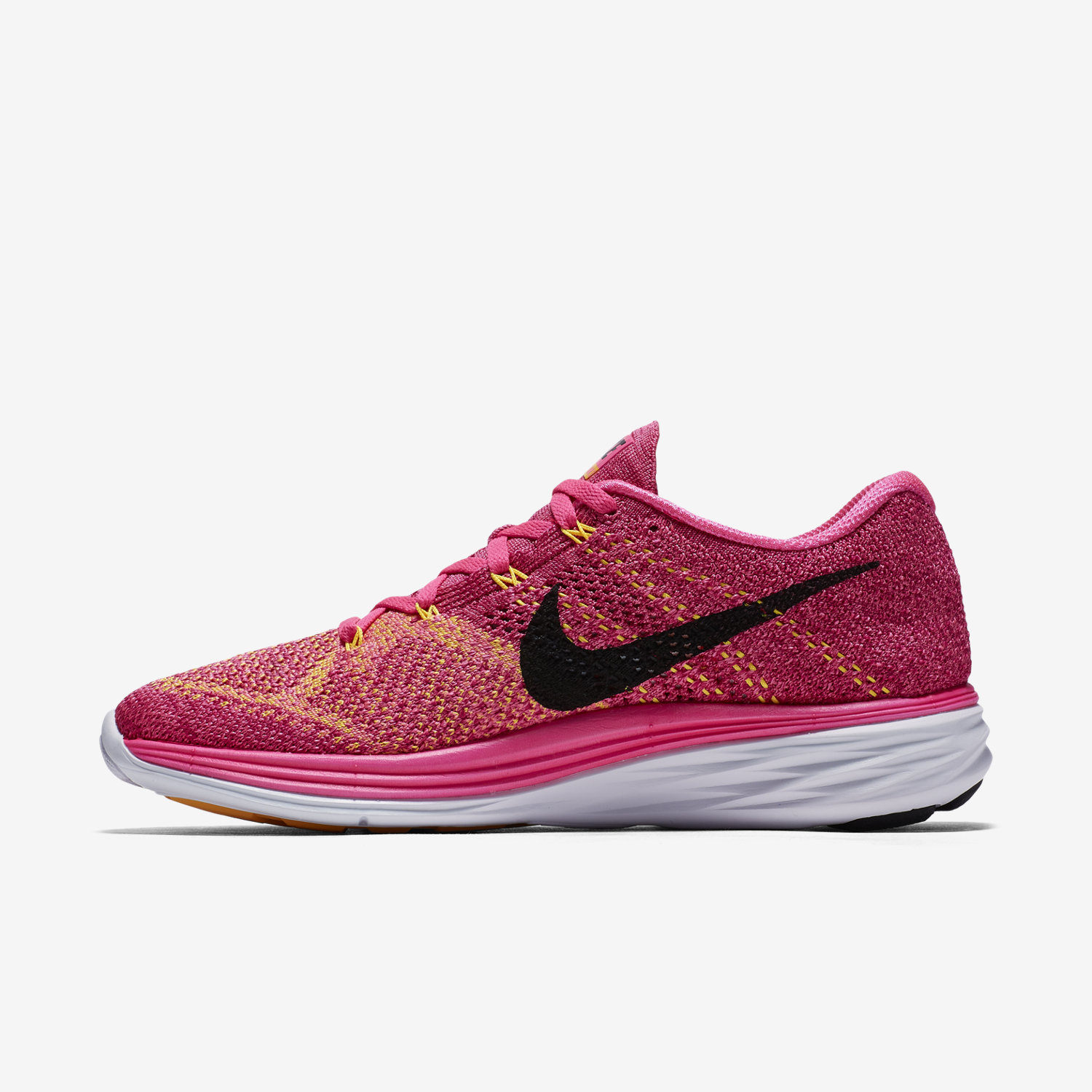 reputable site 03eb0 99ce6 ... womens nike flyknit lunar 3 gold orange . ...