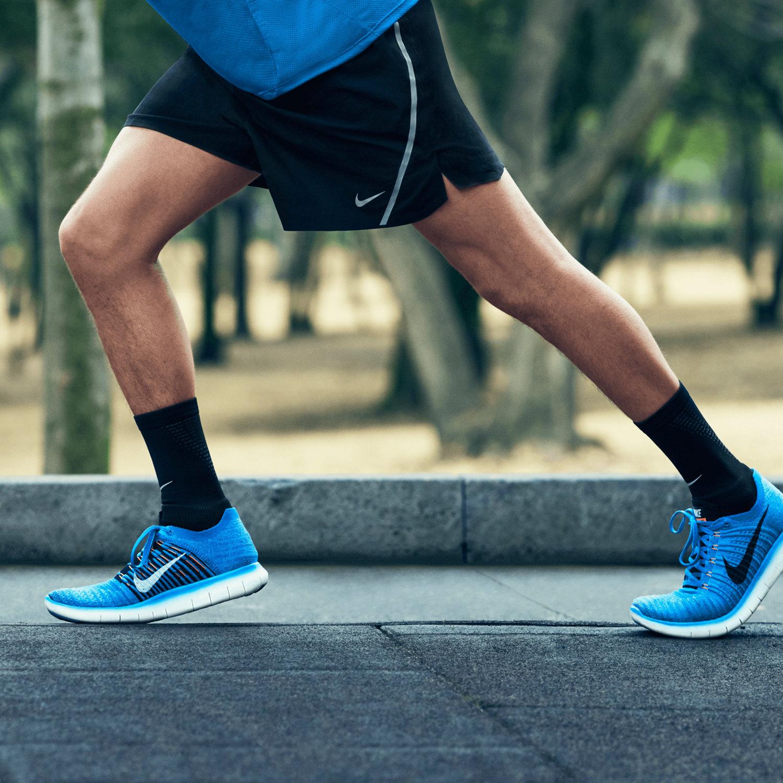 28502b8f7aad ... Nike Mens Free Rn Flyknit Running Shoe Ocean FogBlack-bluehyper Jade  Nike  Free Rn Flyknit Ocean ...