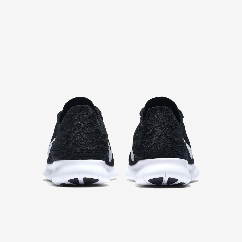 Nike Free Rn Flyknit Black Womens