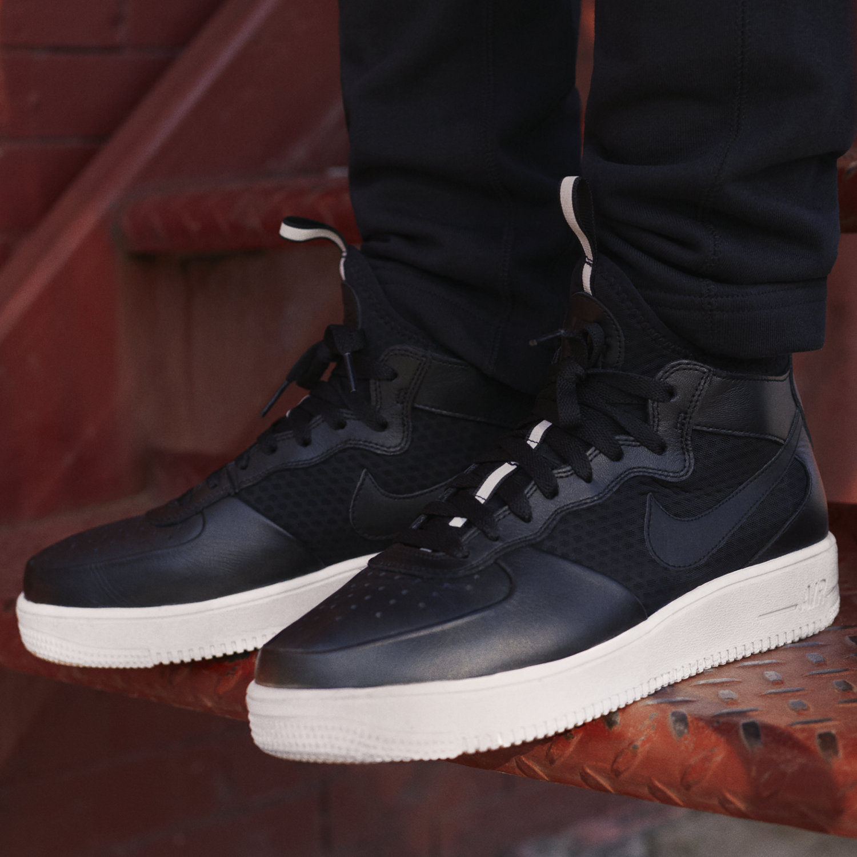 Nike Air Force  Ultraforce Mid Premium Men S Shoe Red