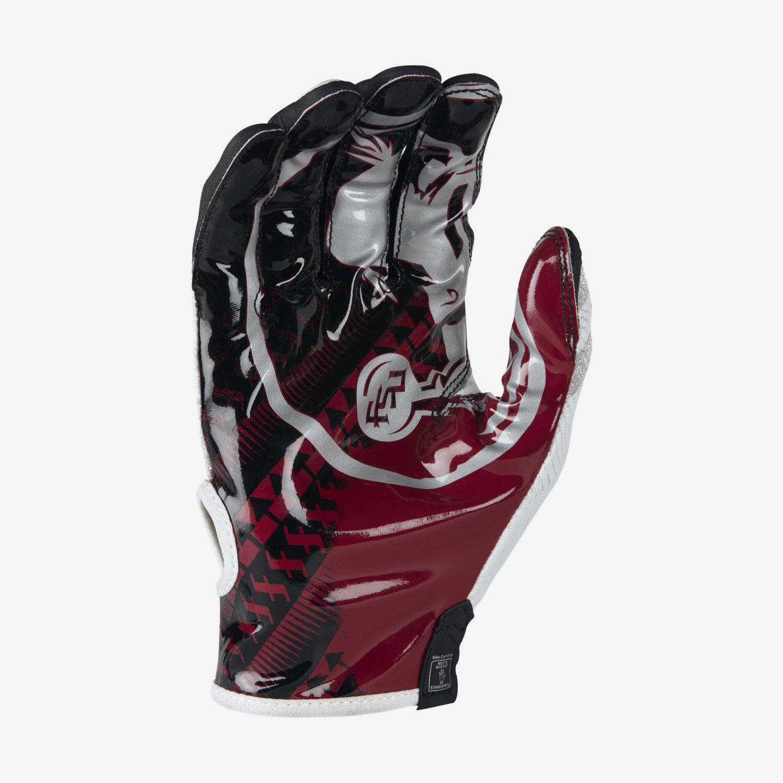 nike men s football gloves vapor knit florida state ... b7df3f30c