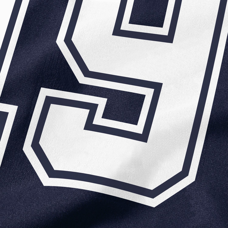 Mens Dallas Cowboys Jason Witten Navy Blue Name Amp Number