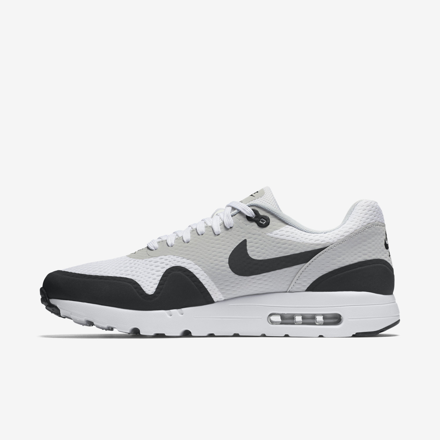 Nike Air Max 1 Ultra Essentials Black And White Trainers
