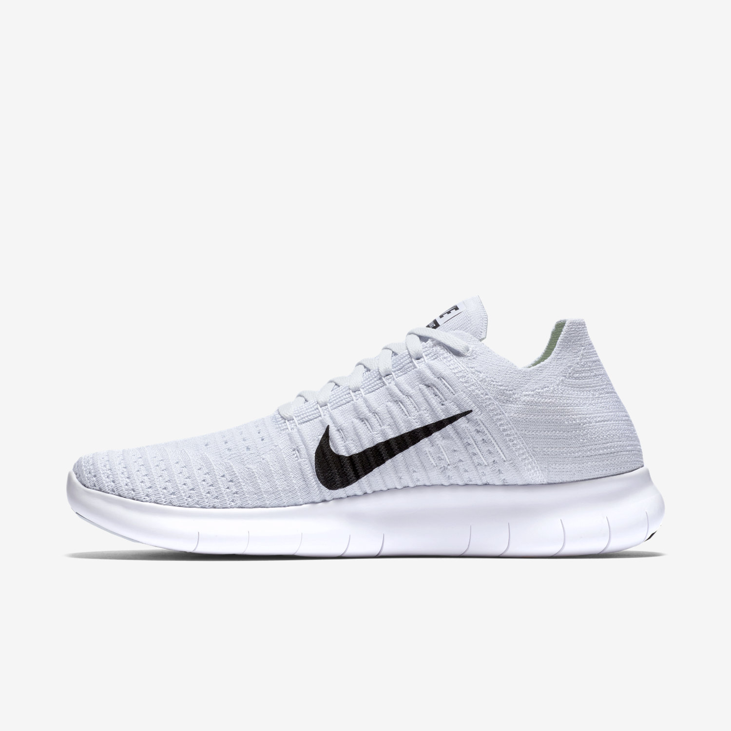 nike free rn flyknit women 39 s grey. Black Bedroom Furniture Sets. Home Design Ideas