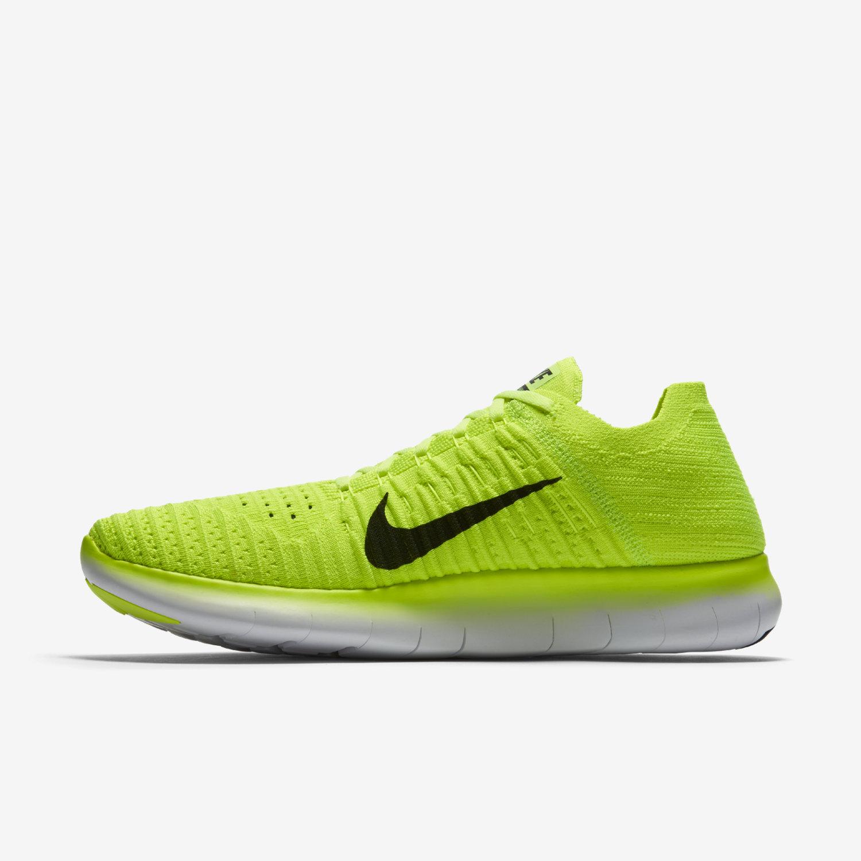 Nike Free Rn Flyknit Neon