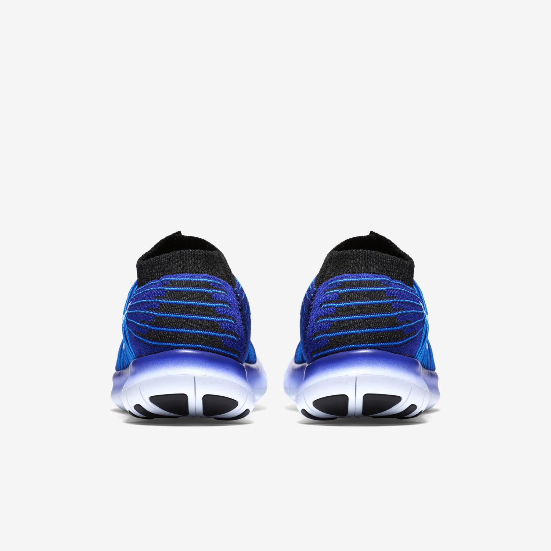Nike Free Rn Motion Flyknit Schwarz