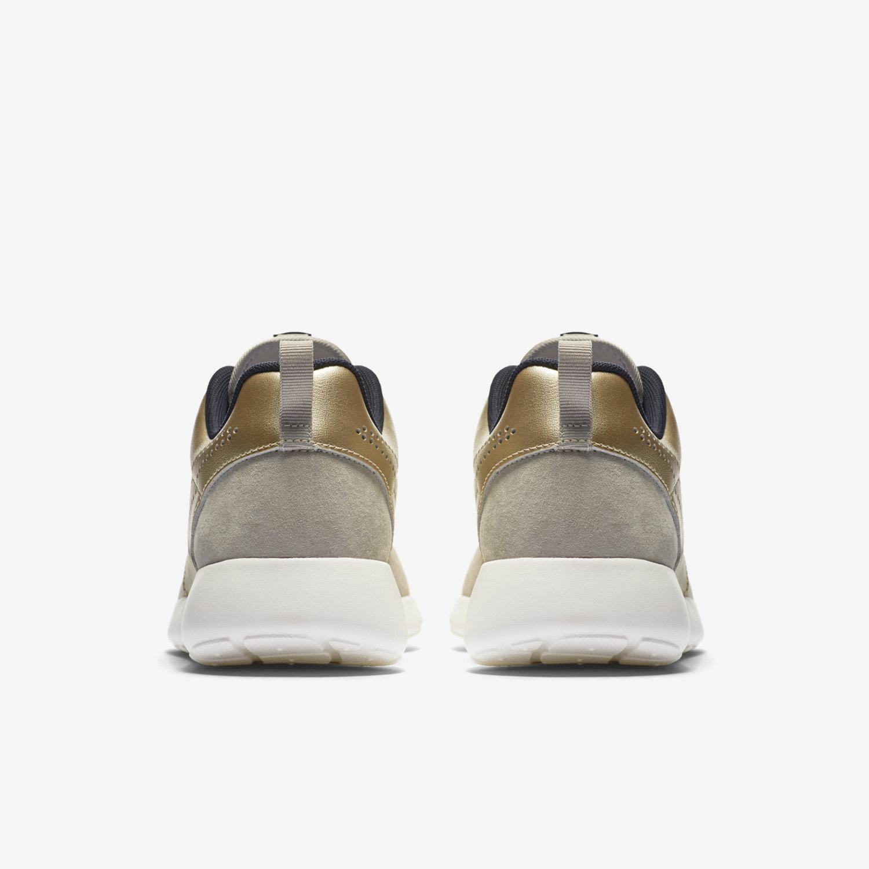 b68b78cba4f ... Nike Roshe One Prm Suede String Metallic Gold Grain Dark Storm Nike WMNS  ...