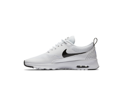 Nike Air Max Thea Flyknit Black White Womens