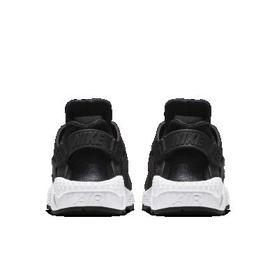 new styles e4211 f412c nike huarache,chaussures nike huarache run enfant grise et noire vue  exterieure