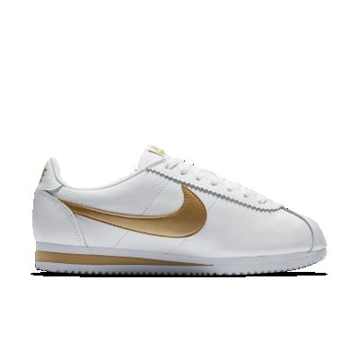White Nike Cortez Womens