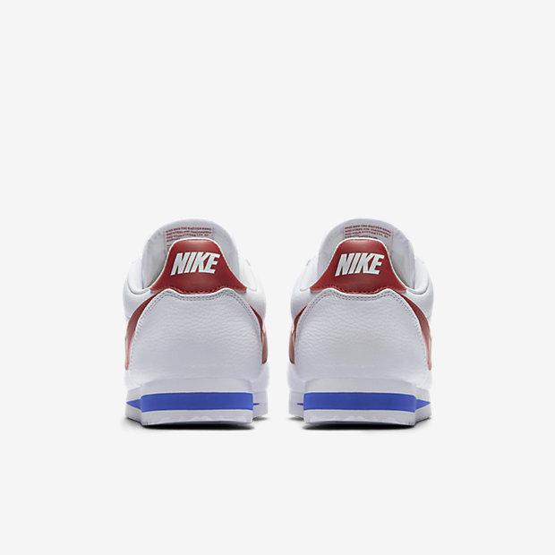 buy popular f427b e6bb3 nike cortez leather,Nike Classic Cortez Leather White Varsity Red Varsity  Blue a muy buen precio 78