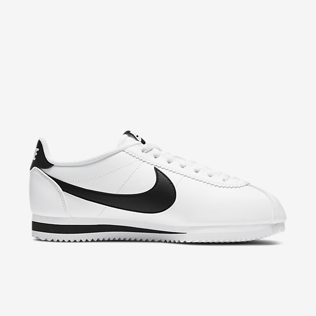 nike leather classic sneakers womens