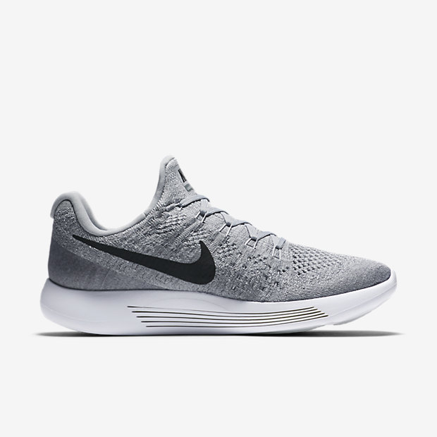 Cheap Nike Lunarestoa 2 Men's Running Shoes Cool Grey/Anthracite