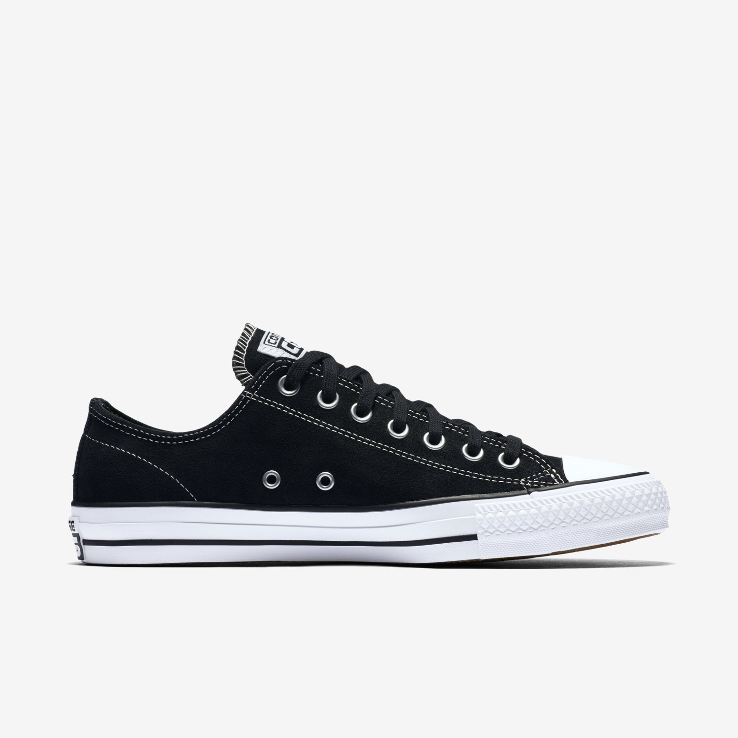 black converse tennis shoes
