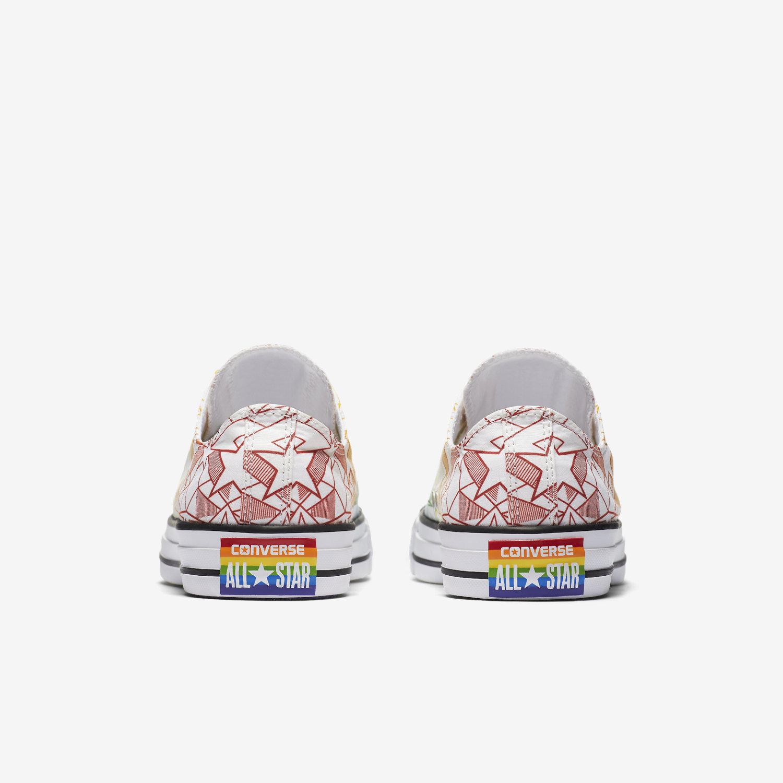Converse Chuck Taylor All Star Pride Geostar Low Top Unisex Shoe. Nike.com