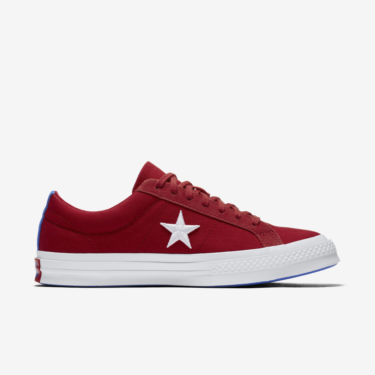 ONE STAR COUNTRY PRIDE - Sneaker low - green/white/gym red