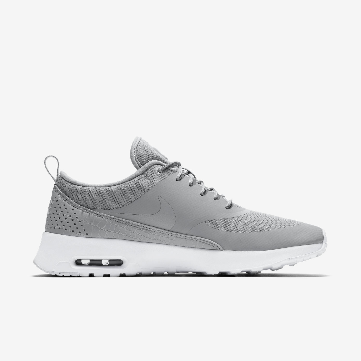 low priced 00643 840a7 ... Nike Air Max Thea Black Wolf Grey White - Office Girl ...