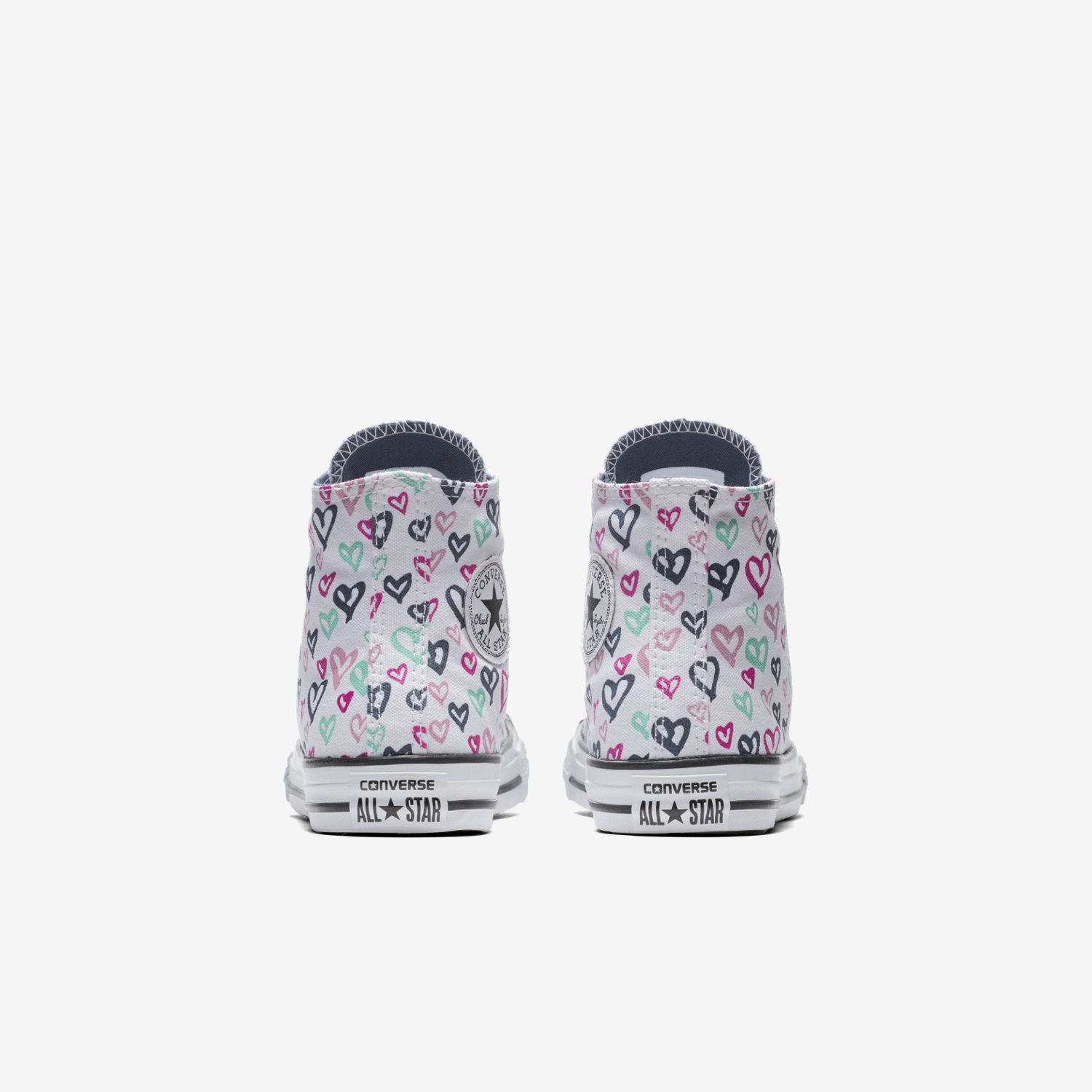 Converse chuck taylor all star hearts print high top littlebig converse chuck taylor all star hearts print high top littlebig kids shoe nike nvjuhfo Image collections