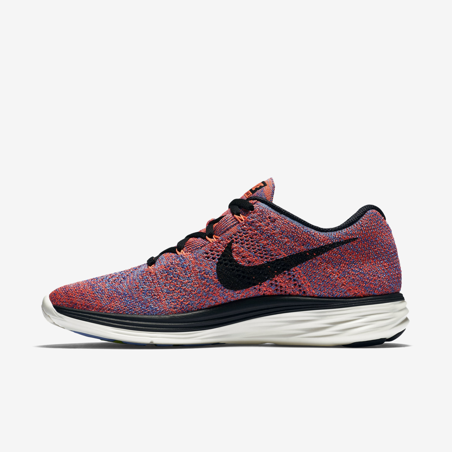 womens nike flyknit lunar 3 orange white