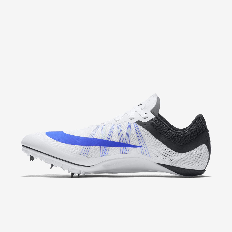 Unisex Nike Zoom Ja Fly 2 White/Black/Racer Blue Track Spike