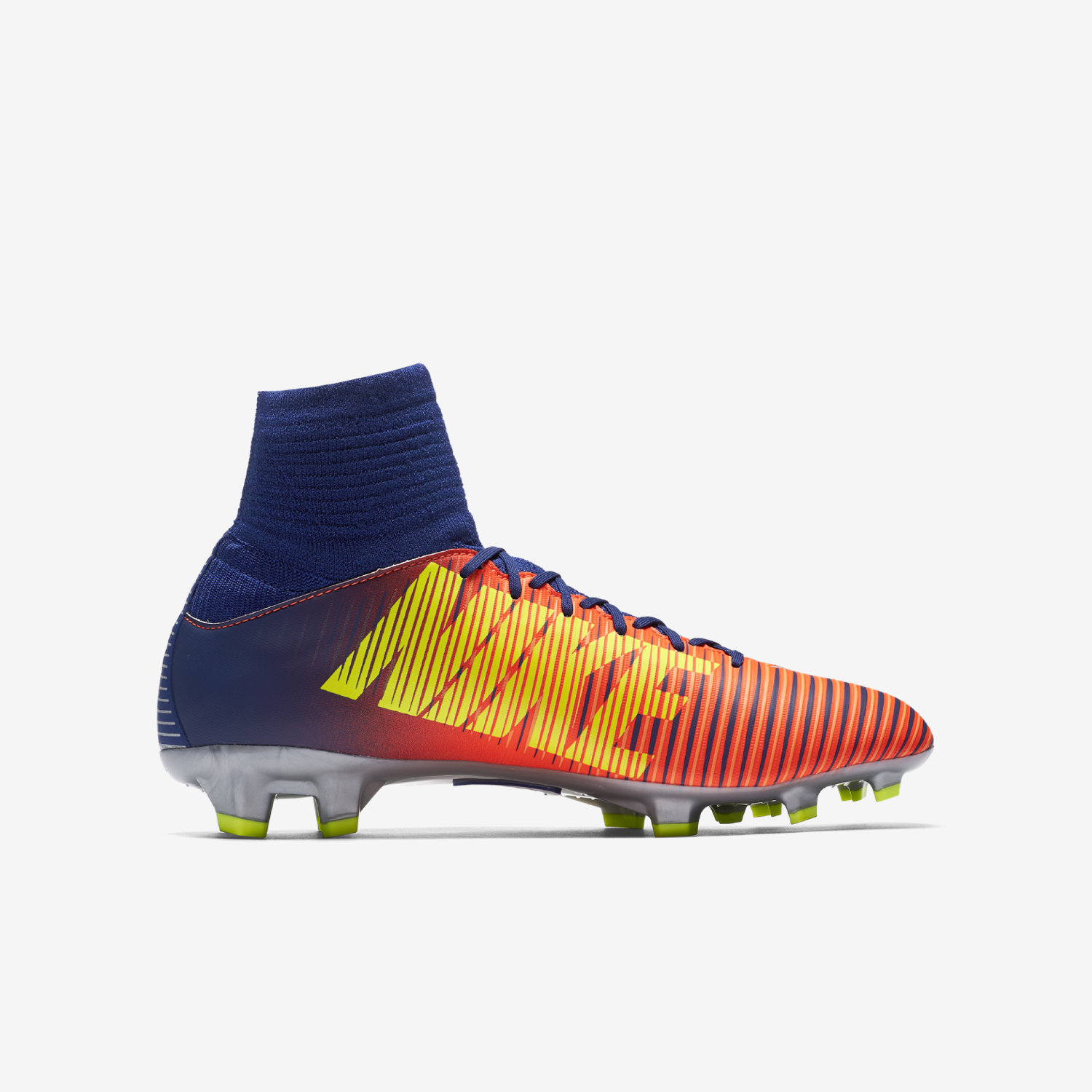 ... Nike Jr. Mercurial Superfly V Older Kids' Firm-Ground Football Boot .