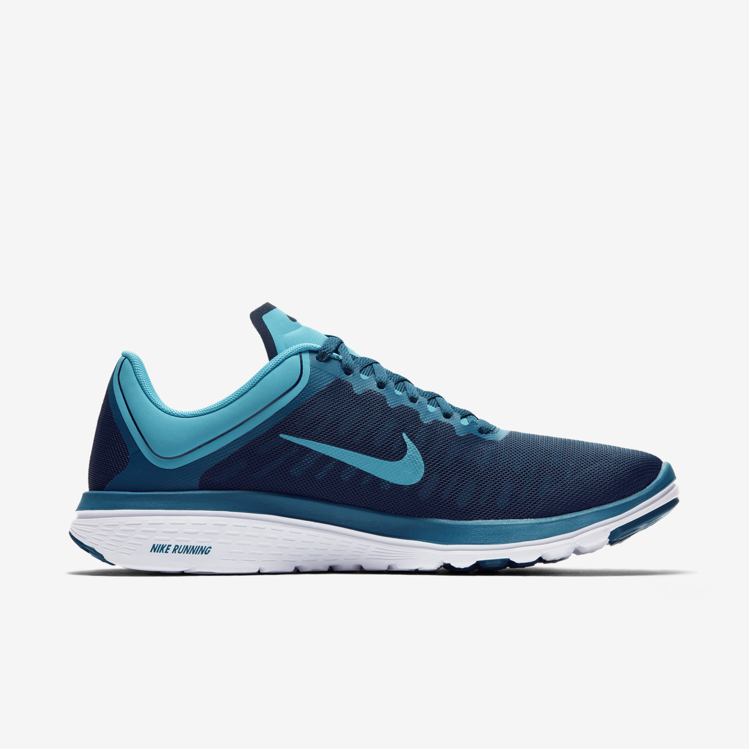 Nike FS Lite Run 4 Womens 852448 401 Chlorine Blue Mesh