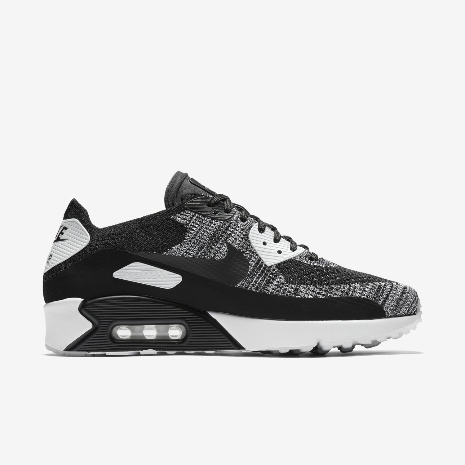 premium selection 642d9 60451 denmark nike sportswear air max 90 ultra 2.0 flyknit trainers sort ...