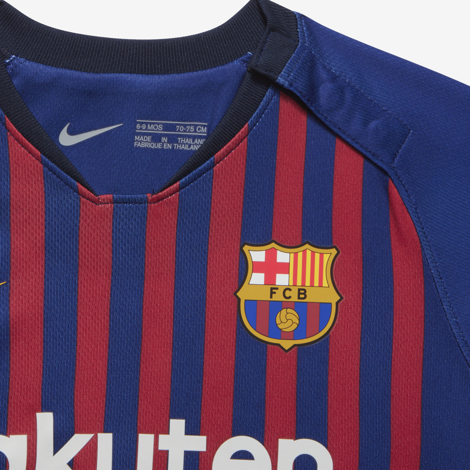 ba6f46ae5fb 2018 19 FC Barcelona Stadium Home Baby Football Kit. Nike.com IE
