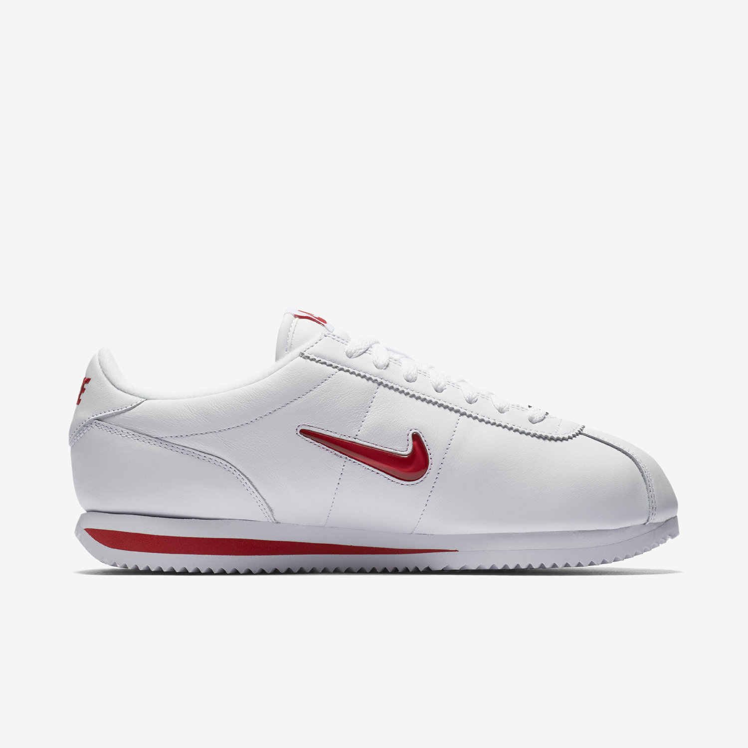 White Nike Cortez Shoes