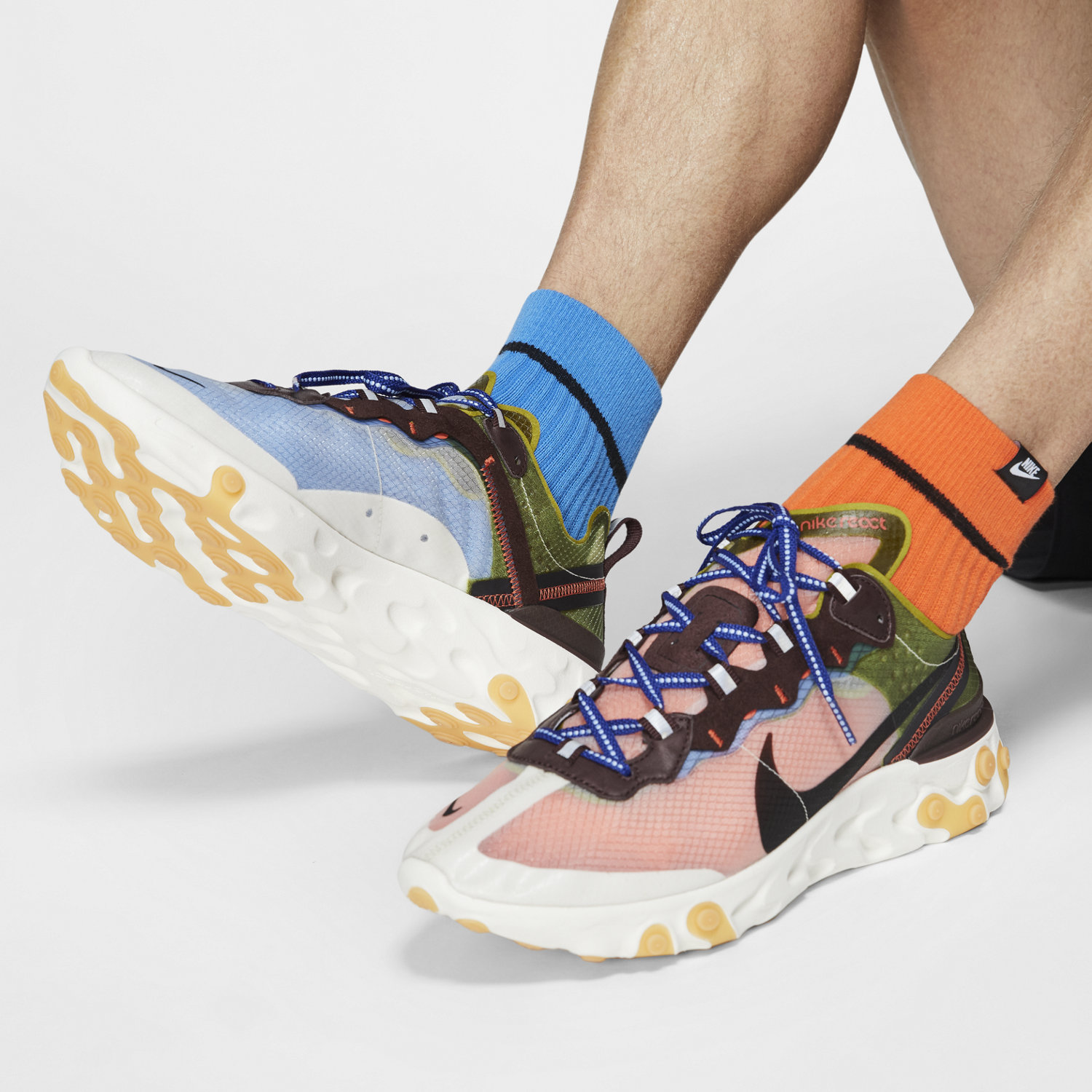 innovative design various colors attractive price Chaussure Nike React Element 87 pour Homme